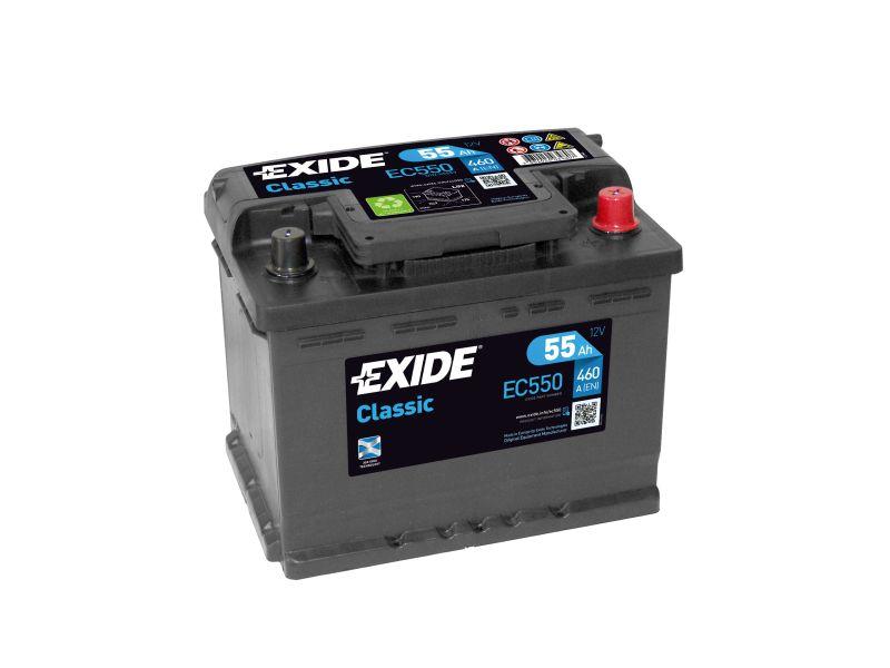 Baterie auto Exide Classic 55Ah 12V EC550