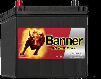 Baterie auto Banner Power Bull 60Ah 12V P6069