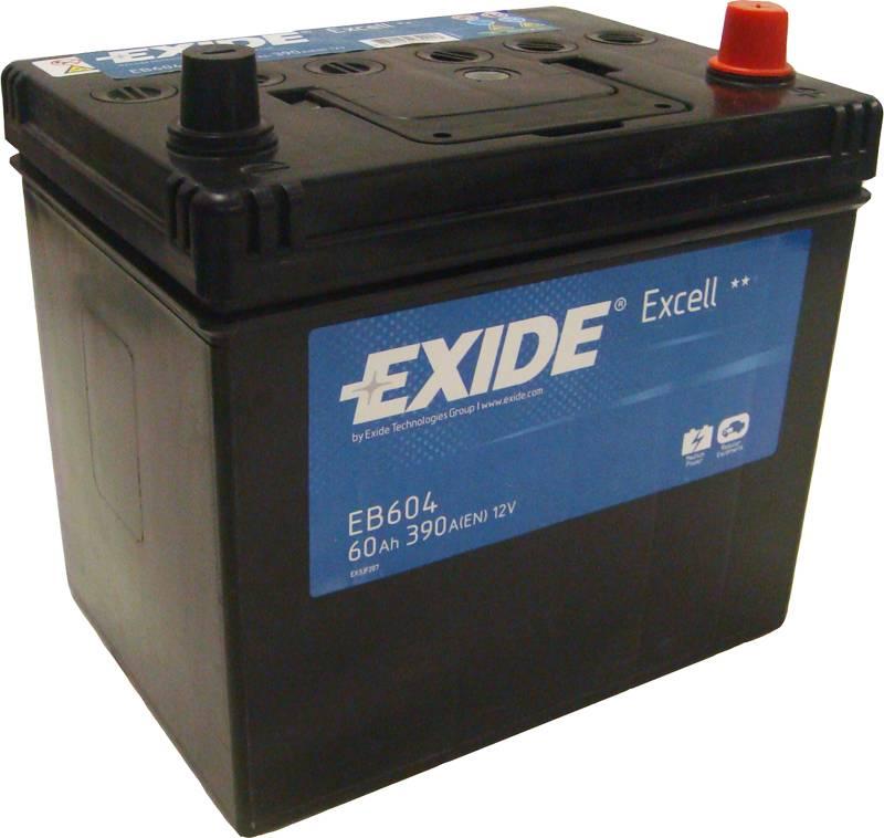 Baterie auto Exide Excell 60Ah 12V EB604