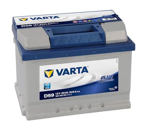 Baterie auto Varta D59 Blue Dynamic 60Ah 12V 560409054
