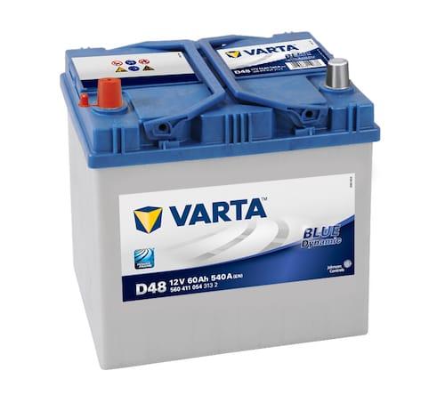 Baterie auto Varta D48 Blue Dynamic 60Ah 12V 560411054