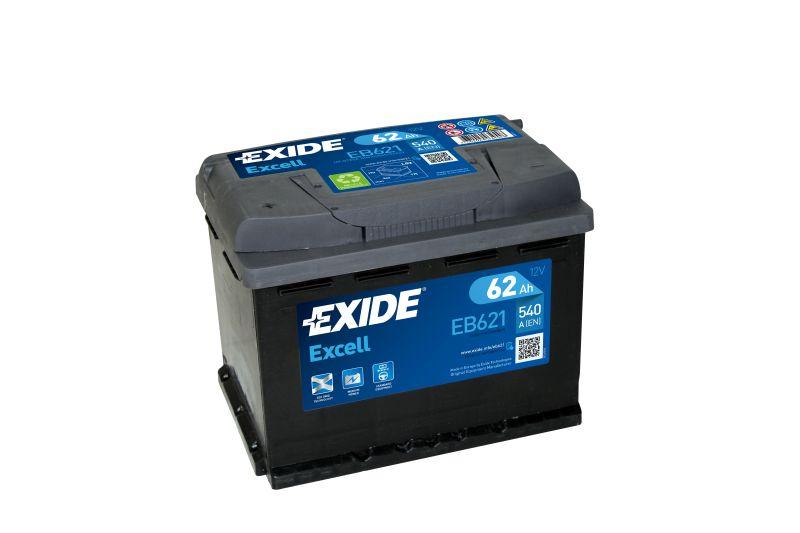 Baterie auto Exide Excell 62Ah 12V EB621
