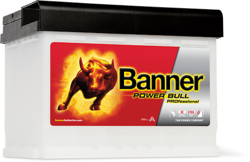 Baterie auto Banner Power Bull PROfessional 63Ah 12V P6340