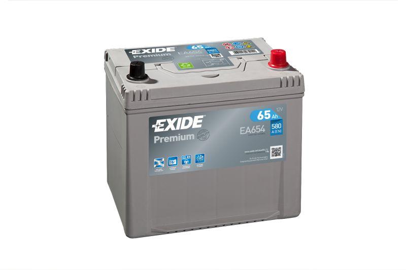 Baterie auto Exide Premium 65Ah 12V EA654