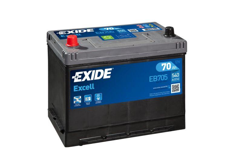 Baterie auto Exide Excell 70Ah 12V EB705