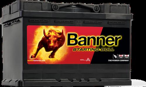 Baterie auto Banner Starting Bull 72Ah 12V 57212