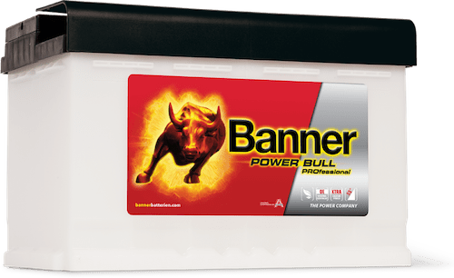 Baterie auto Banner Power Bull PROfessional 77Ah 12V P7740