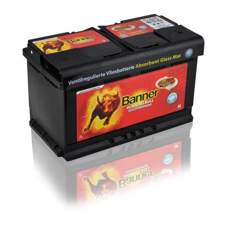 Baterie auto Banner Running Bull 80Ah 12V 58001