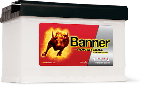 Baterie auto Banner Power Bull PROfessional 84Ah 12V P8440