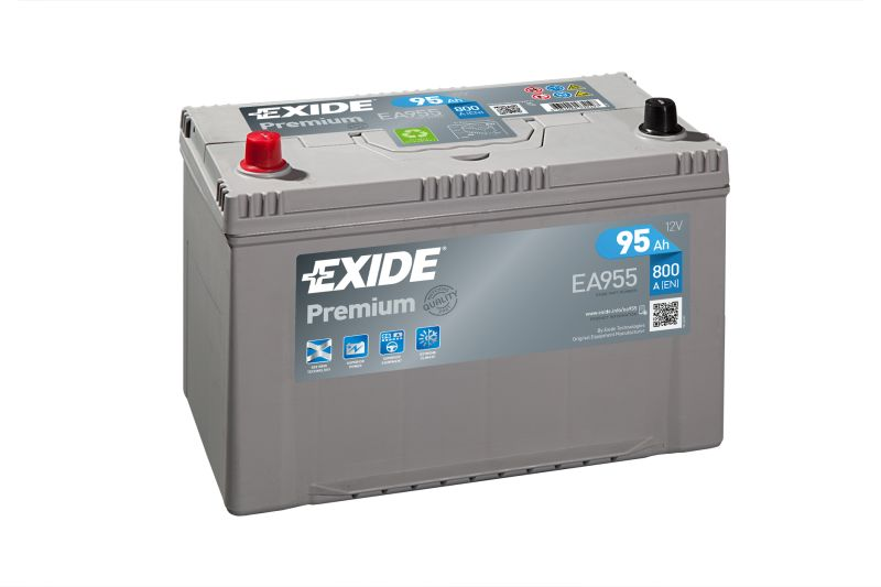 Baterie auto Exide Premium 95Ah 12V EA955