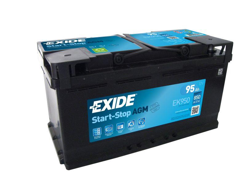 Baterie auto Exide Start-Stop AGM 95Ah 12V EK950
