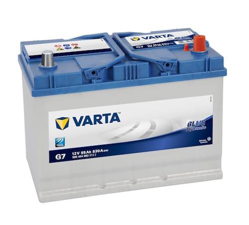 Baterie auto Varta G7 Blue Dynamic 95Ah 12V 595404083
