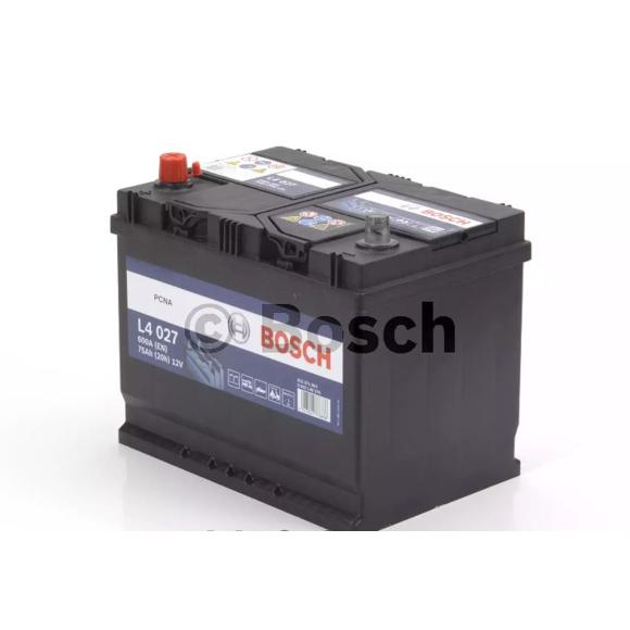 Baterie camion Bosch L4 75Ah 12V 0092L40270