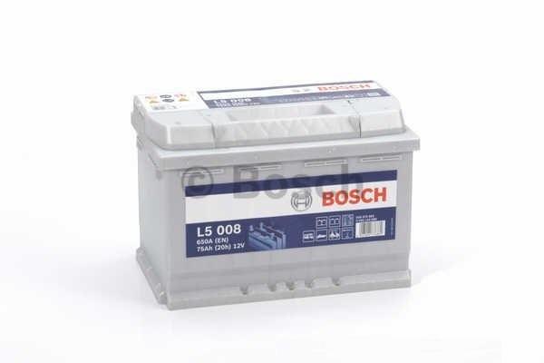 Baterie auto Bosch L5 75Ah 12V 0092L50080