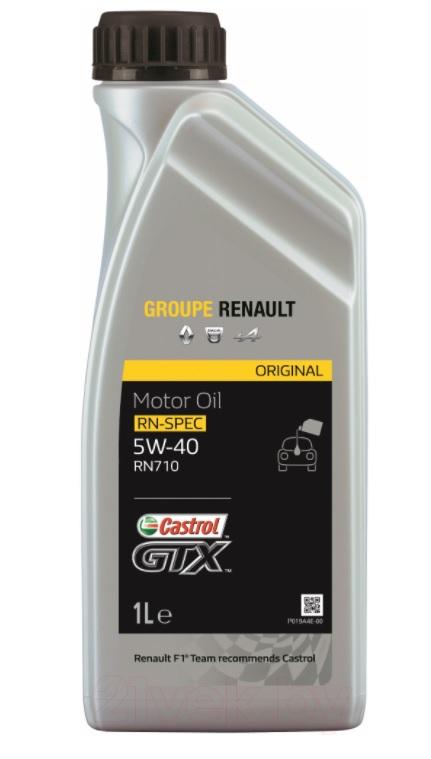Ulei motor Renault Castrol GTX RN710 5W40 1L
