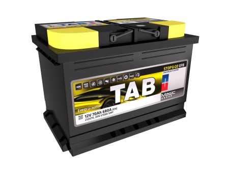 Baterie auto TAB Magic Stop & Go EFB 70Ah 12V