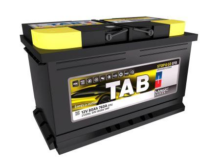 aterie auto TAB Magic Stop & Go EFB 80Ah 12V