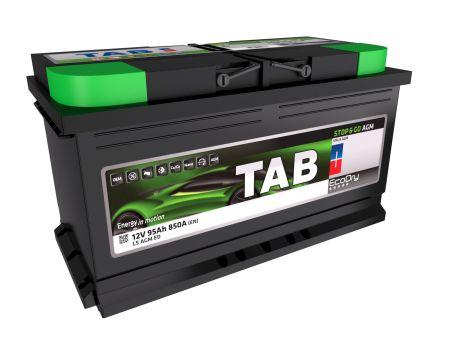 Baterie auto TAB EcoDry Stop & Go AGM 95Ah 12V