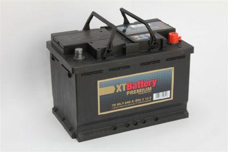 Baterie auto XT Premium 70Ah 12V