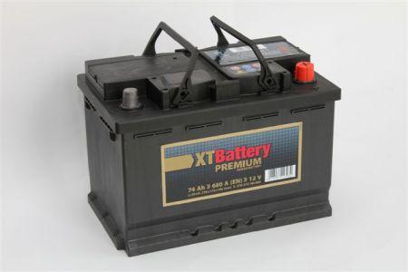 Baterie Auto Xt Premium 74ah 12v