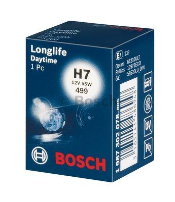 Bec auto halogen Bosch Longlife Time H7 12V 55W