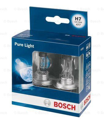 Bec auto halogen Bec Bosch Pure Light H7 12V 55W