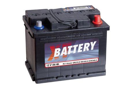Baterie auto XT Classic 66Ah 12V