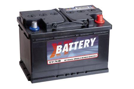 Baterie auto XT Classic 74Ah 12V