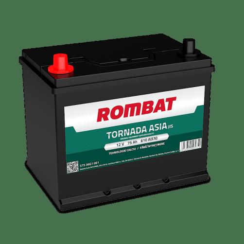 Baterie auto Rombat Tornada Asia 75Ah 12V 57536G1061