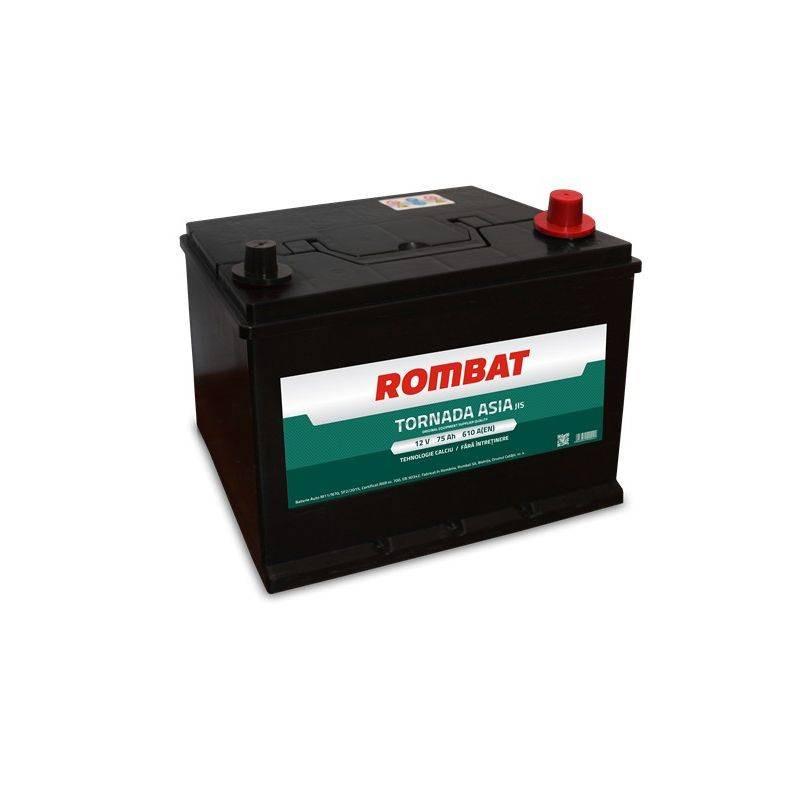 Baterie auto Rombat Tornada Asia 75Ah 610A 12V 57536G0061