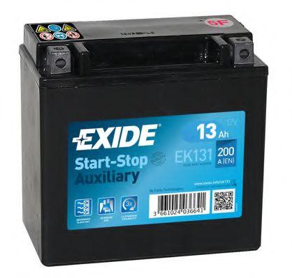 Baterie auto Exide Start-Stop Auxiliary 13Ah 12V EK131