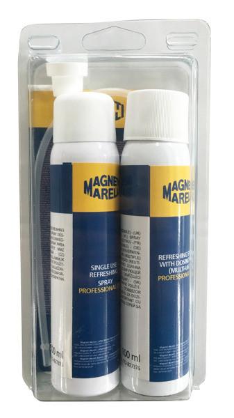 Kit 2 Spray-uri igienizare aer conditionat Magneti Marelli 150ml