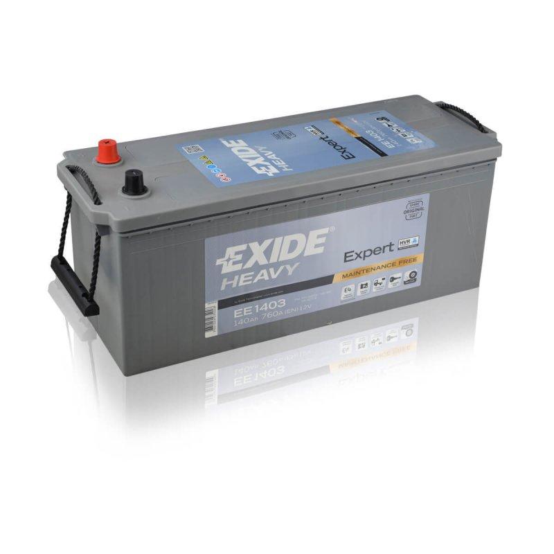 Baterie camion Exide Heavy Duty Expert 140Ah 12V EE1403