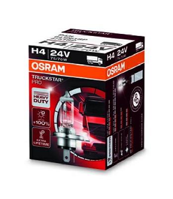 Bec auto halogen Osram TruckStar Pro H4 24V 70/75W