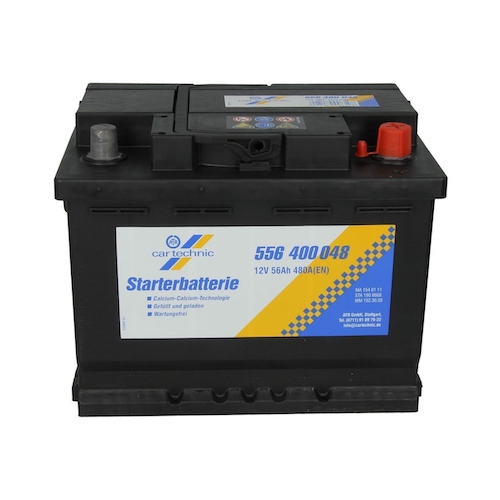Baterie auto Cartechnic Starter 56Ah 12V 556400048