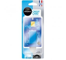 Odorizant auto Aroma Car Credit Card Aqua