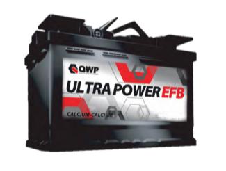 Baterie auto QWP EFB 80Ah 12V