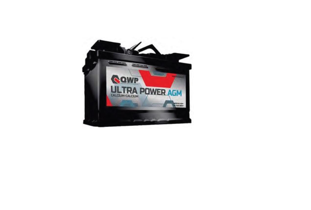Baterie auto QWP Ultra Power AGM 80Ah 12V