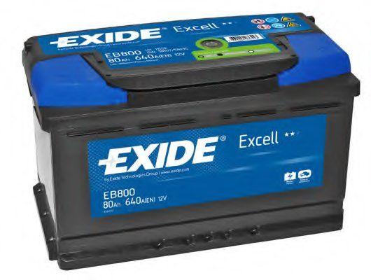 Baterie auto Exide Excell 80Ah 12V EB800