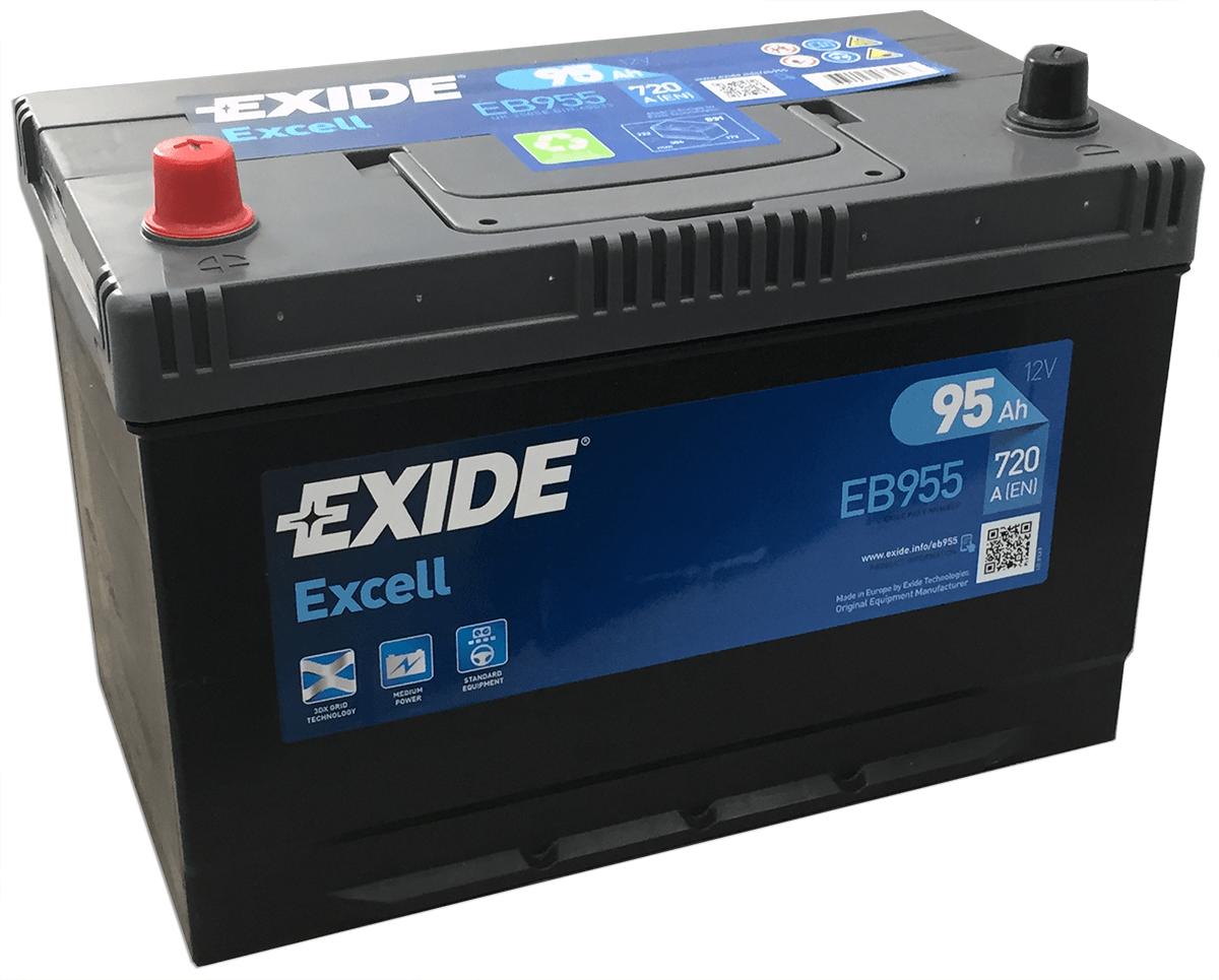 Baterie auto Exide Excell 95Ah 12V EB955