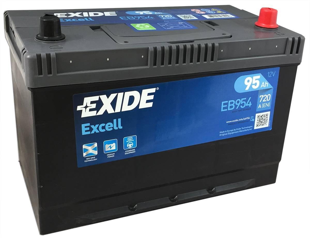 Baterie auto Exide Excell 95Ah 12V EB954