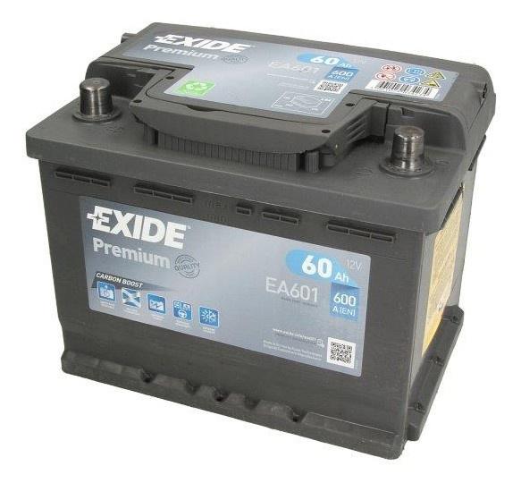 Baterie auto Exide Premium 61Ah 12V EA601