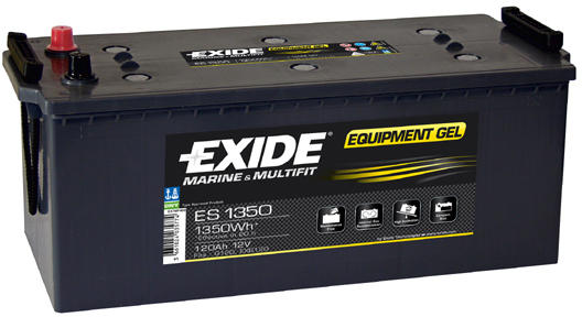 Baterie camion Exide Equipment Gel 120Ah 12V ES1350