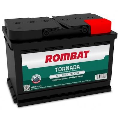 Baterie auto Rombat Tornada 80Ah 12V