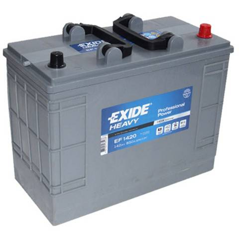 Baterie camion Exide Heavy Duty Professional Power 140Ah 12V EF1420