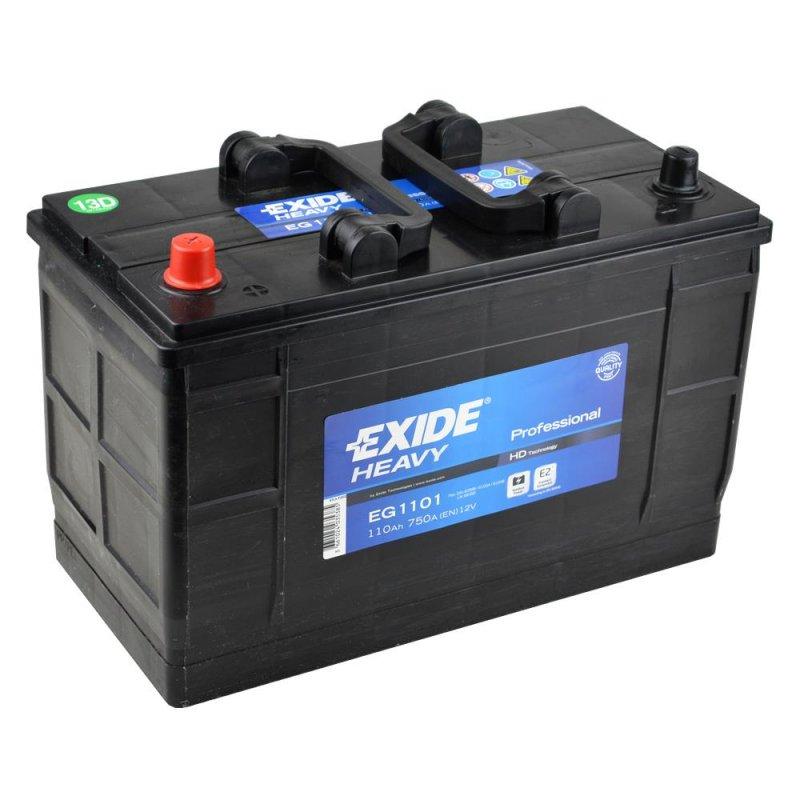 Baterie auto Exide Heavy Duty Professional 110Ah 12V EG1101