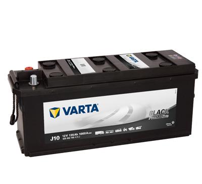 Baterie camion Varta J10 Promotive Black 135Ah 12V 635052100