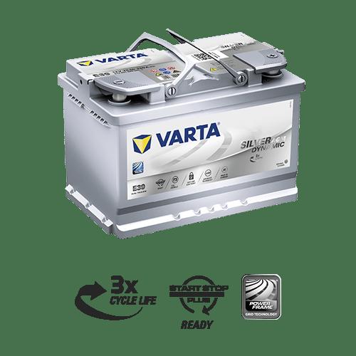 Baterie auto Varta Silver Dynamic AGM E39 70Ah 12V 570901076