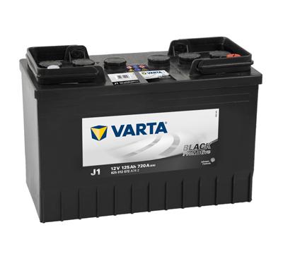 Baterie camion Varta J1 Promotive Black 125Ah 12V 625012072