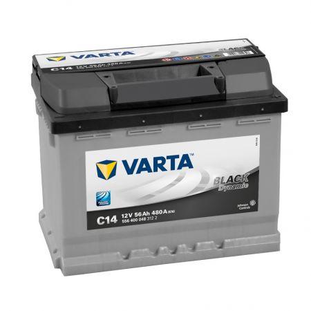 Baterie auto Varta C14 Black Dynamic 56Ah 12V 556400048